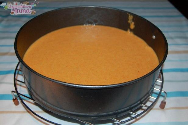 Masa tarta de zanahorias y almendras