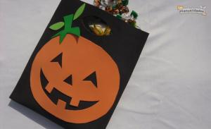 Bolsa para golosinas para Halloween