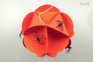 Esperas de papel para decorar Halloween