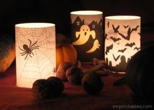 Decoracion De Halloween Para Casa Iii Cosas De Ninos Recetas - Cosas-de-halloween-para-hacer-en-casa