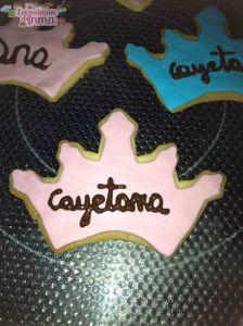 Galletas de cumpleaños de Cayetana I