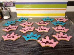 Galletas decoradas cumpleaños de Cayetana II